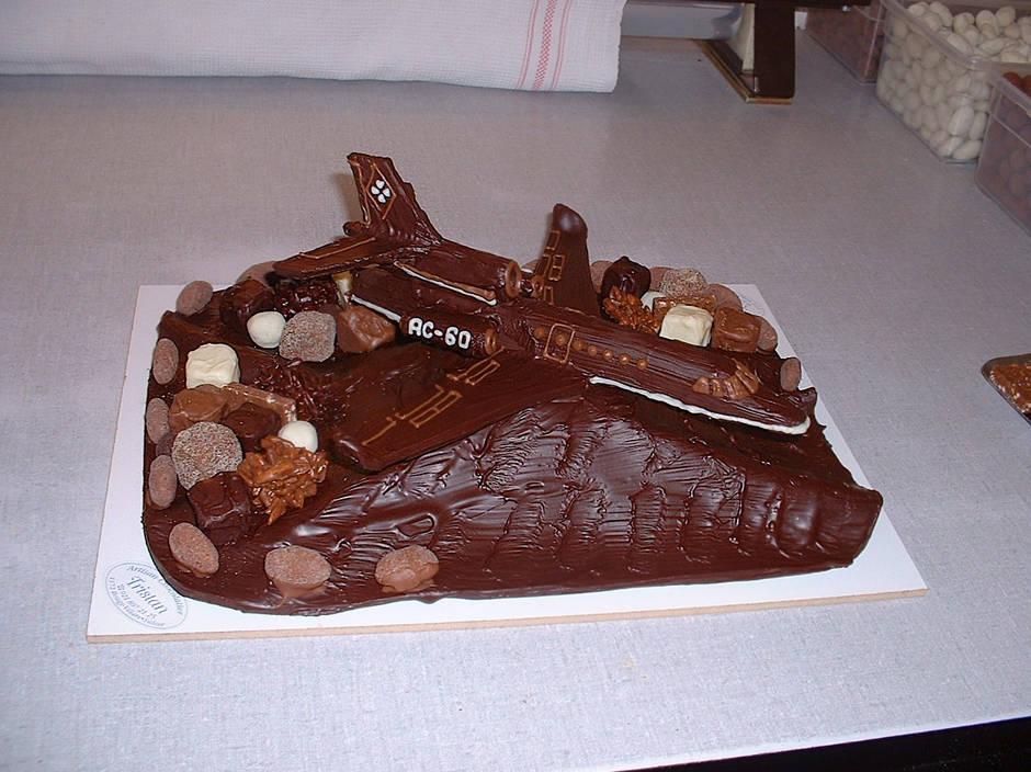 Avion Chocolat Création Tristan Chocolatier