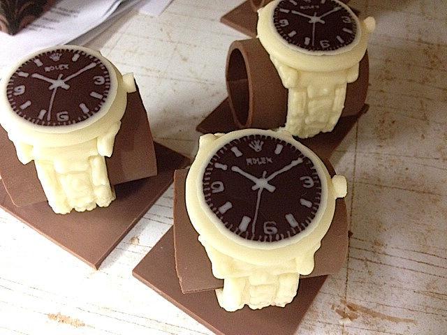 Montre Chocolat Création Tristan Chocolatier