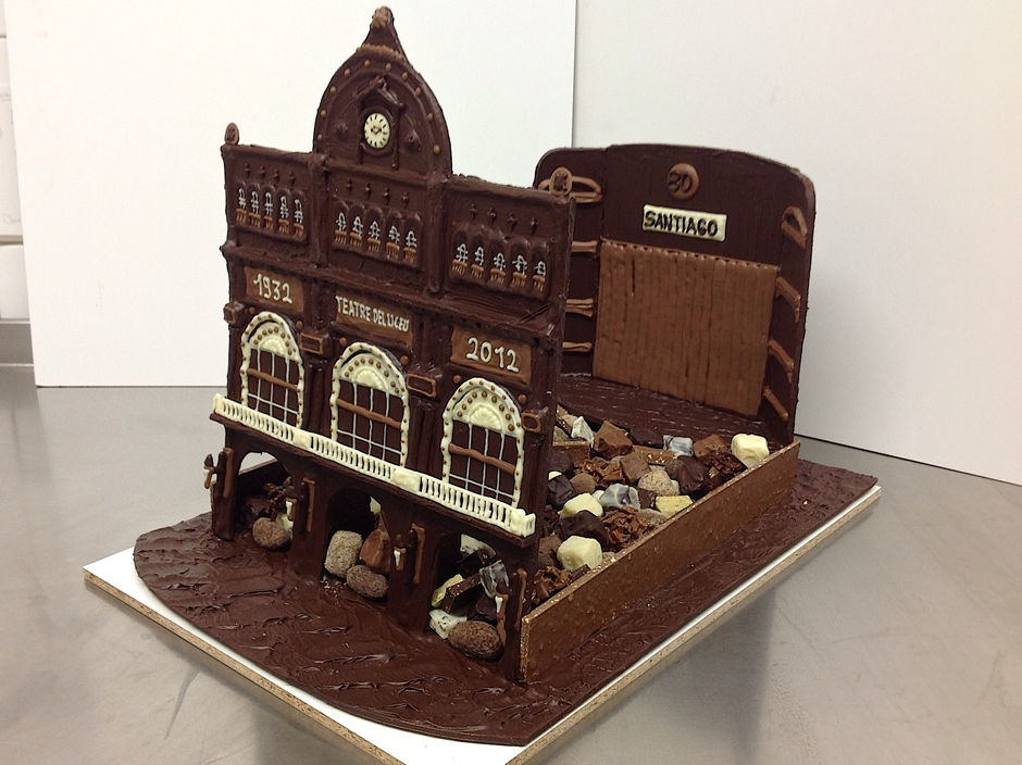 Thèatre Chocolat Création Tristan Chocolatier