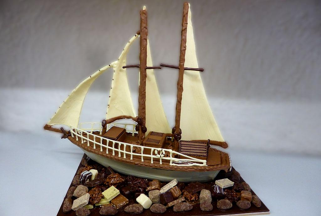 Voilier Composition Tristan Chocolatier