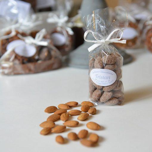 Amande Californienne Chocolat lait Tristan Chocolatier Suisse
