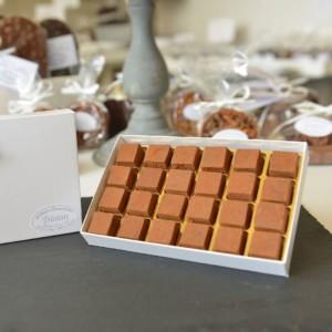 Boite Pavés 24 pièces Tristan Chocolatier Suisse