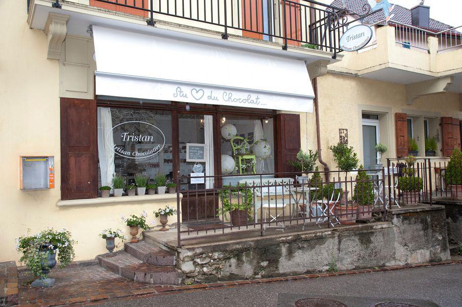 Boutique Bougy Villars Tristan chocolatier Suisse