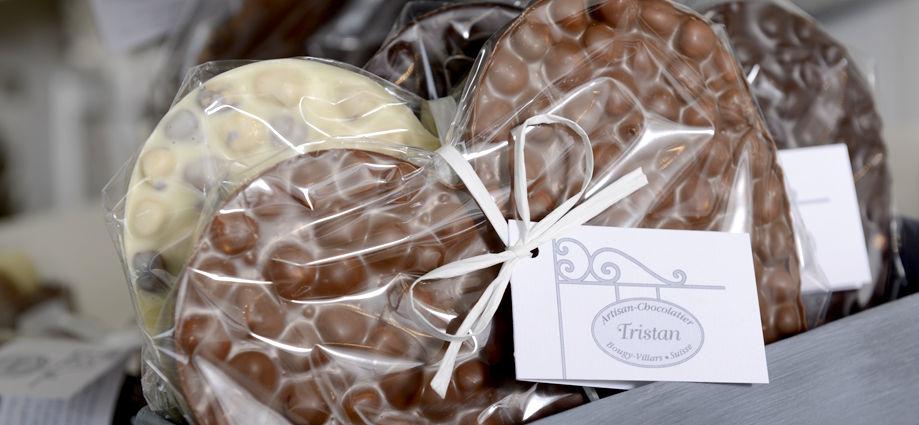 Cœurs aux noisettes du Piémont Tristan Chocolatier