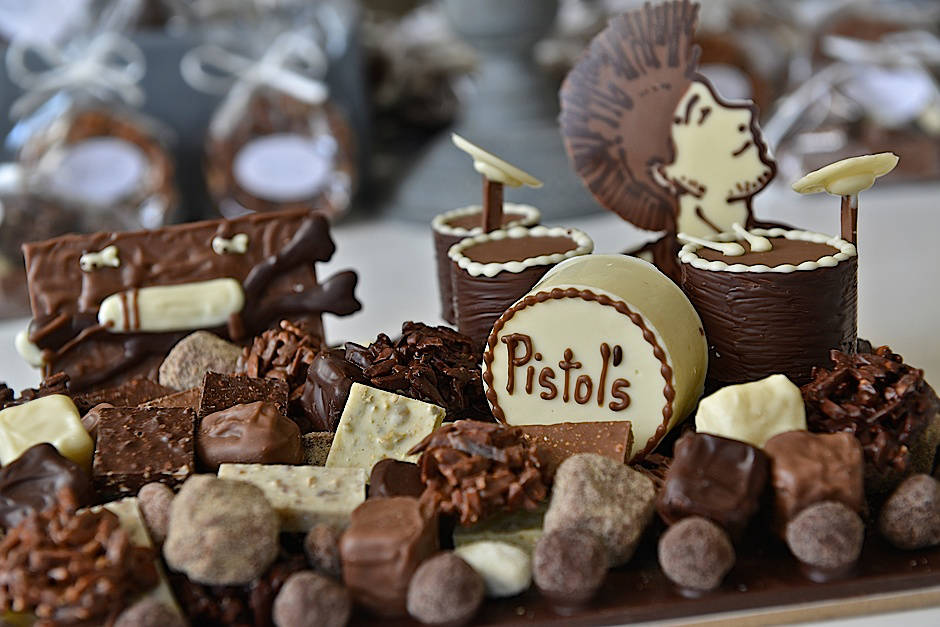 Composition personnalisée Tristan Chocolatier Suisse
