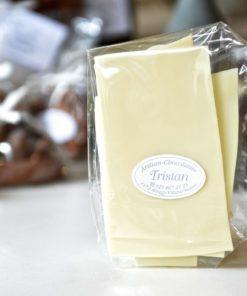 Feuillantine Chocolat Blanc Nature Tristan Chocolatier Suisse