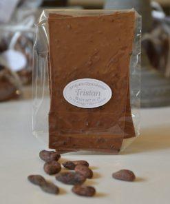 Feuillantine Chocolat lait Fève Tristan Chocolatier Suisse