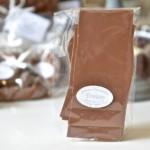 Feuillantines nature, chocolat lait