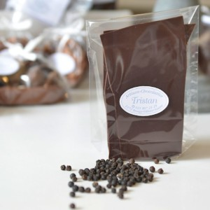 Feuillantine Chocolat noir Poivre de Kampot Tristan Chocolatier Suisse
