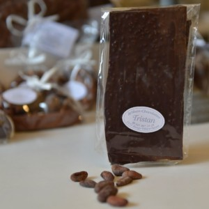 Feuillantine Chocolat Noir Fève Tristan Chocolatier Suisse