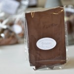 Feuillantines nature, chocolat noir 54 %