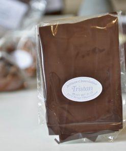 Feuillantine Chocolat Noir 56% nature Tristan Chocolatier Suisse