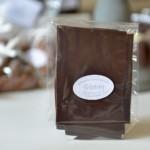 Feuillantines nature, chocolat noir 79 %