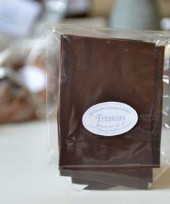 Feuillantine Chocolat noir 79% Tristan Chocolatier Suisse