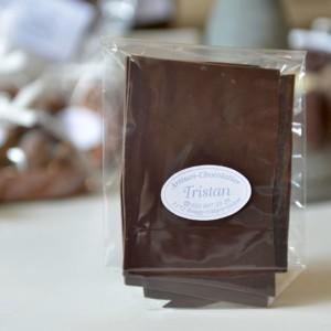 Feuillantine Chocolat noir 79% nature Tristan Chocolatier Suisse