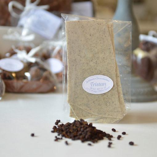 Feuillantine Blanc Poivre de Tifda Tristan Chocolatier Suisse