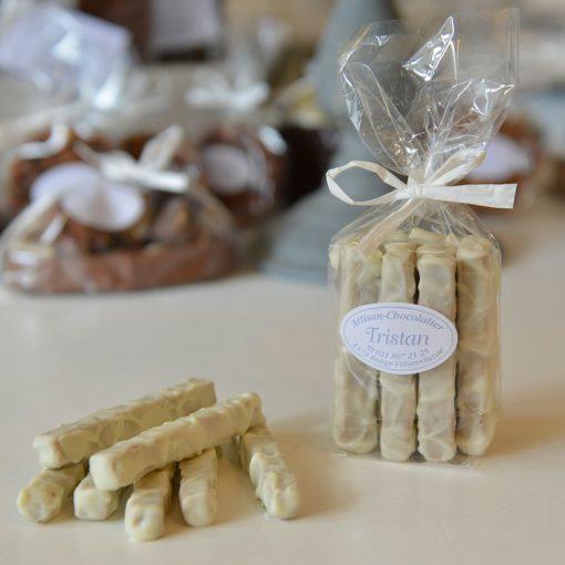 Fondantines Blanc praliné Tristan Chocolatier Suisse
