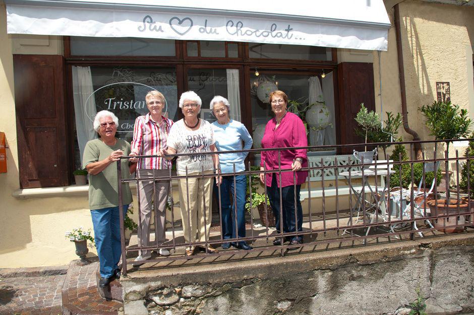 Les Dames du Village Tristan chocolatier Suisse