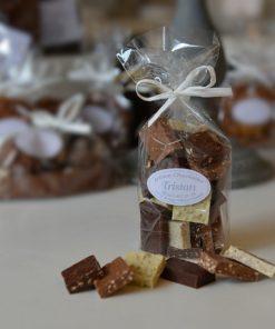 Mélange pralinés Lait Blanc Noir Tristan Chocolatier Suisse