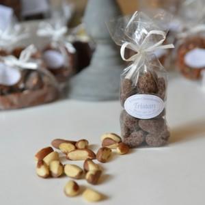 Noix du Brésil Chocolat noir 54 % Tristan Chocolatier Suisse