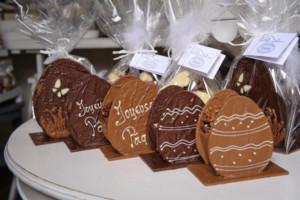 Joyeuses Pâques Oeufs composition Tristan chocolatier