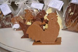 Pâques Poule Coq Tristan chocolatier