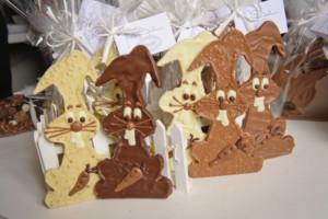 Pâques Lapins Tristan chocolatier