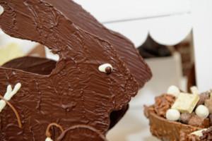 Pâques Compositions Lapin Tristan chocolatier