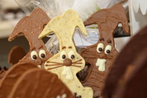 Pâques trois lapins Tristan chocolatier