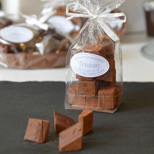 Pavés noir 54% Tristan Chocolatier Suisse
