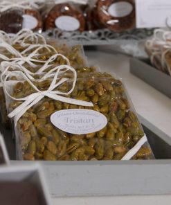 Pavé Pistaches Caramélisées Tristan Chocolatier Suisse