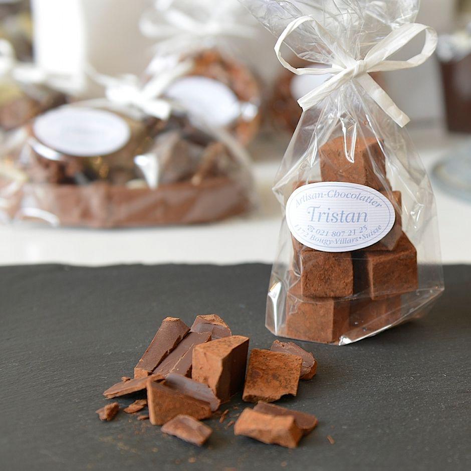 Pavés noir 79% Tristan Chocolatier Suisse
