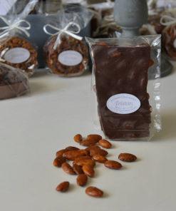 Plaque Amande 65% cacao Tristan Chocolatier Suisse