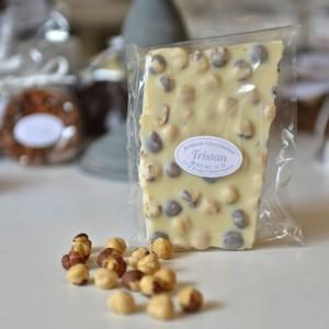 Plaque Blanc Noisette Tristan Chocolatier Suisse