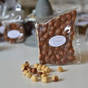 Plaque Lait Noisette Tristan Chocolatier Suisse