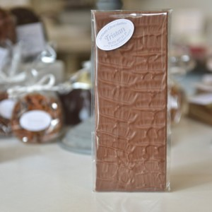Plaque Lait Nature Tristan Chocolatier Suisse
