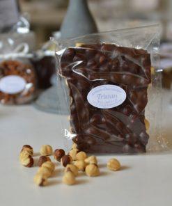 Plaque Noir 65% Noisette Tristan Chocolatier Suisse