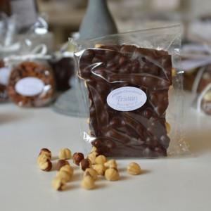 Plaque Noir 56% Noisette Tristan Chocolatier Suisse