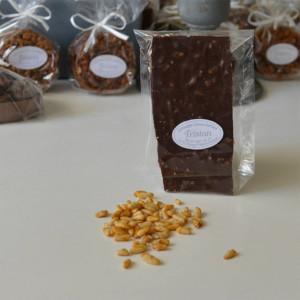 Plaque Pignon Chocolat Noir 56% Tristan Chocolatier Suisse
