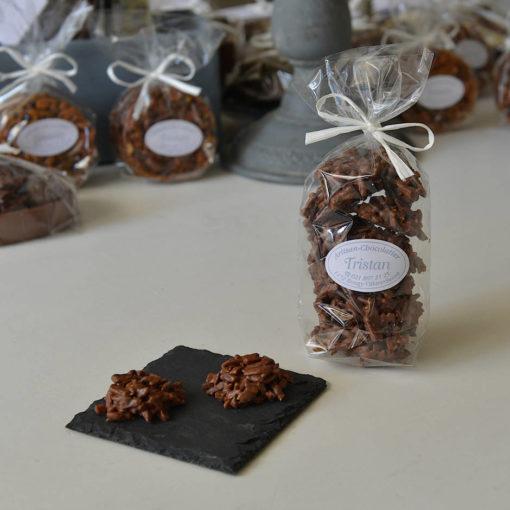 Rocher aux amandes Lait Tristan Chocolatier Suisse