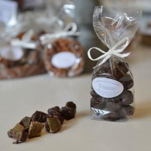 Rubis au gingembre Noir Tristan Chocolatier Suisse