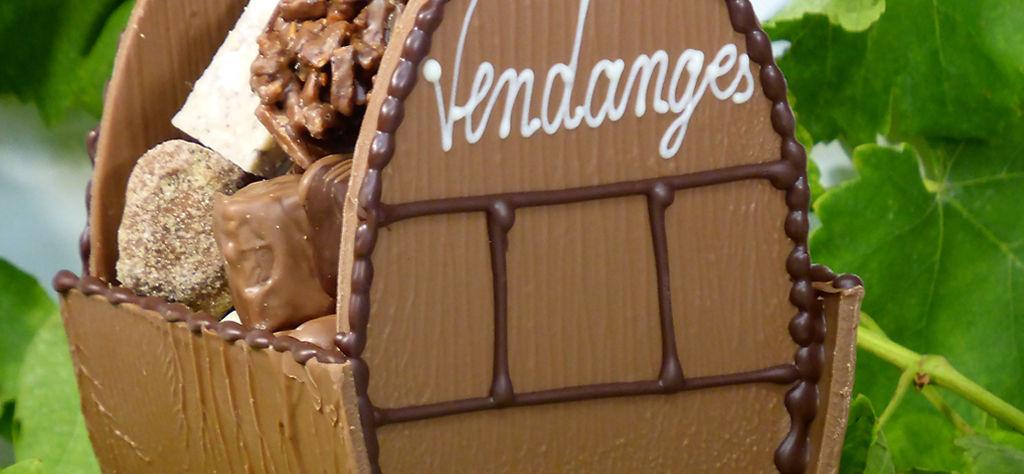 Tonneau des vendanges Tristan Chocolatier