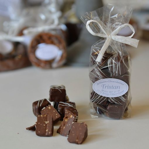 Truffe Rêves de noisette noir Tristan Chocolatier Suisse
