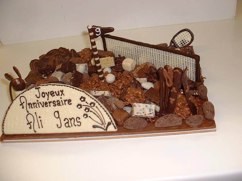 Ali 9ans Chocolat Création Tristan Chocolatier