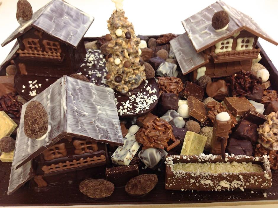 Chalets Chocolat Création Tristan Chocolatier