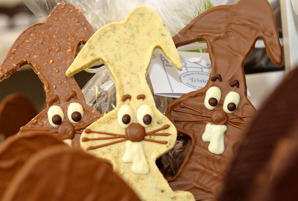 Lapins de PâquesTristan Chocolatier