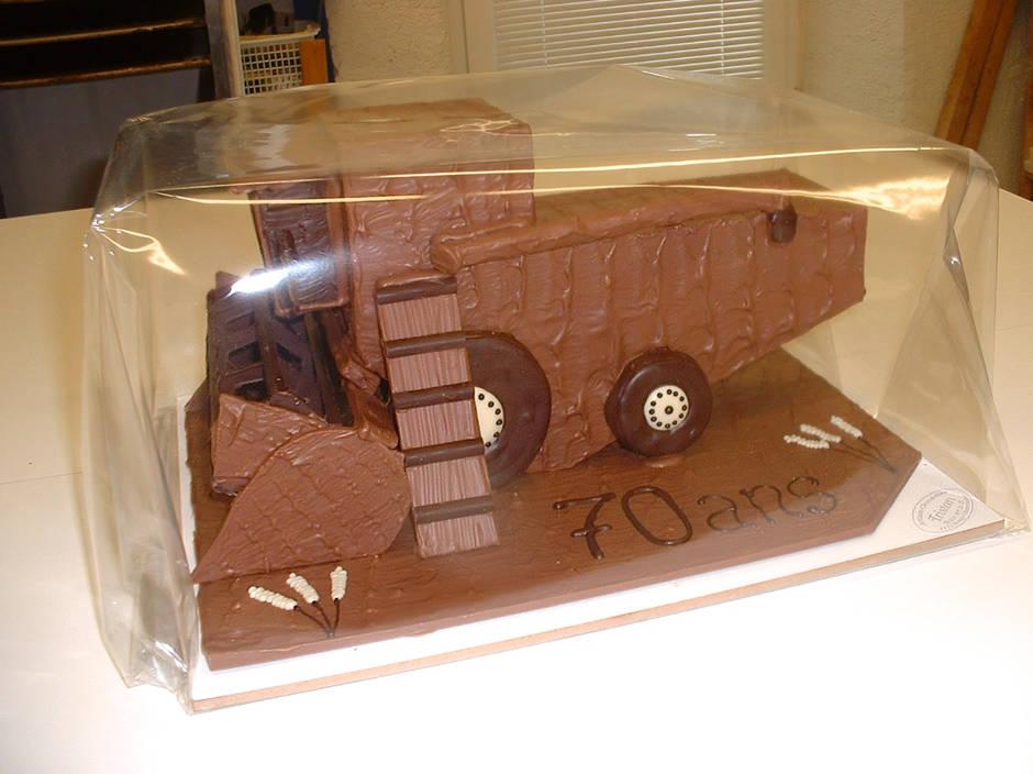 Moissoneuse Chocolat Création Tristan Chocolatier