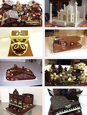 Portfolio Tristan chocolatier