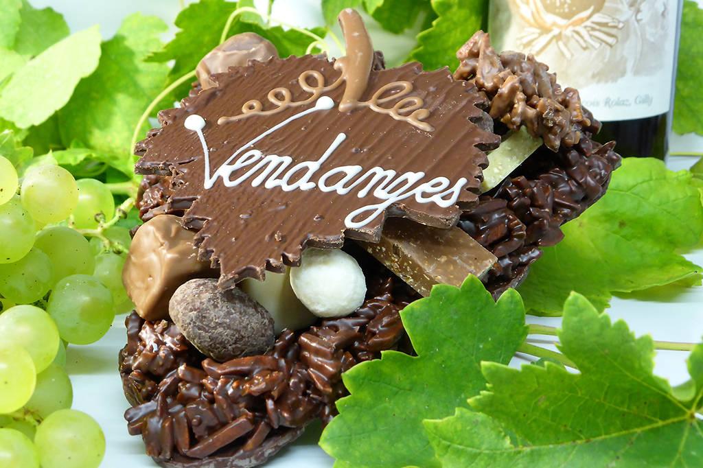 Grappe de raisin Création Tristan Chocolatier