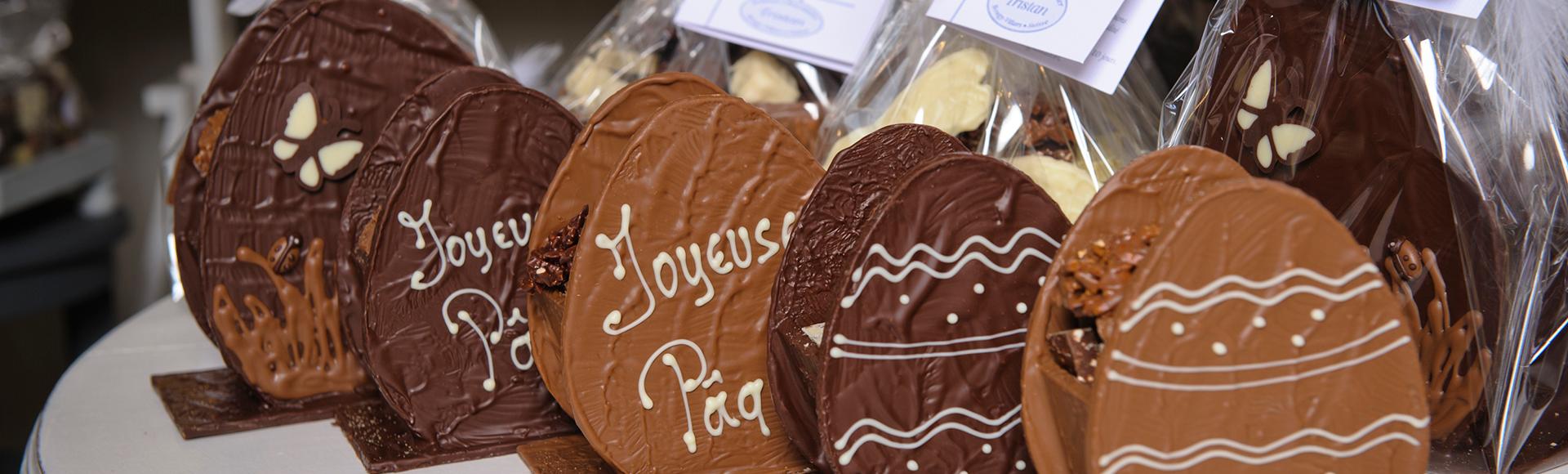 Pâques Chocolat Tristan Suisse